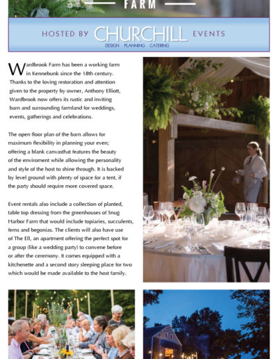 Wardbrook Farm Brochure Page 1