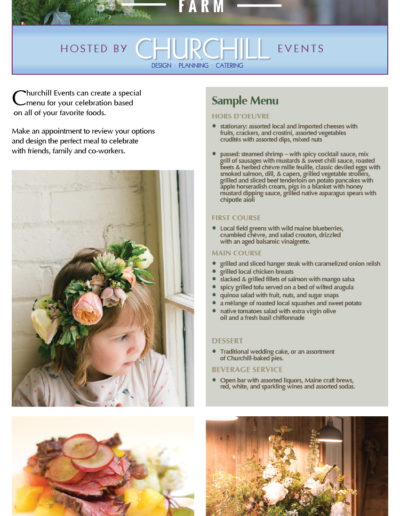 Wardbrook Farm Brochure Page 3