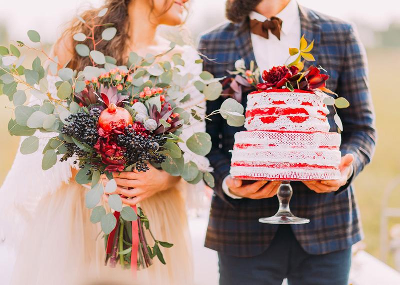 Groom's cake at wedding